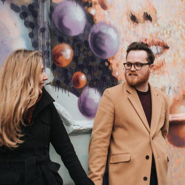 London engagement session - Maria + Carl