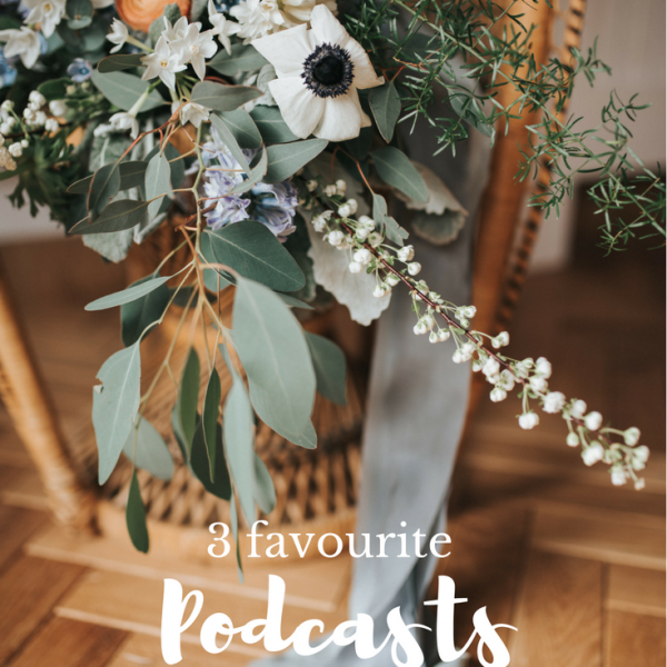 3 podcasts for creatives I'm listening to right now!