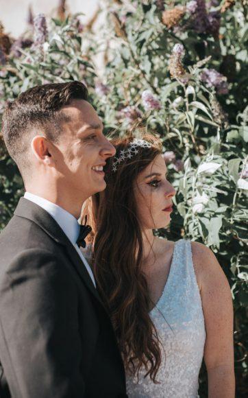 Silk Mill Studios wedding, Frome