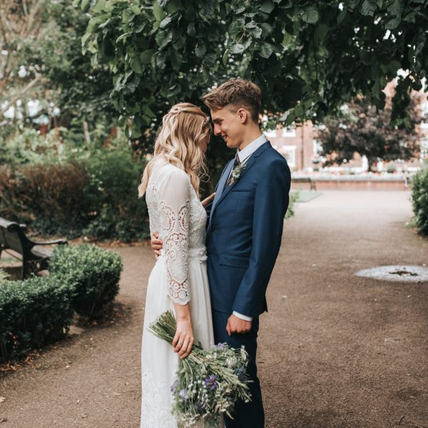 Stylish Nottingham city wedding
