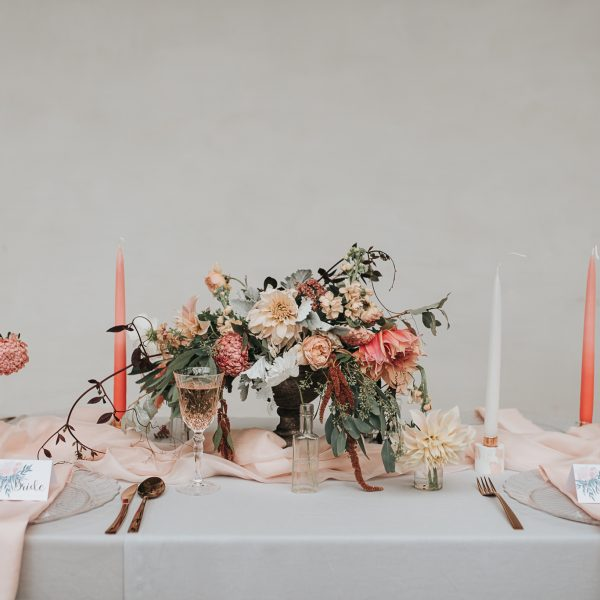 Luxe greenhouse wedding inspiration