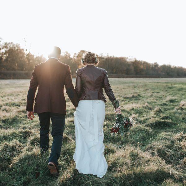 Winter wedding at Cripps Hazel Gap Barn