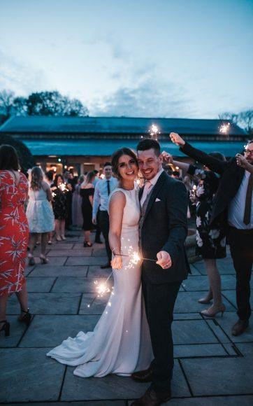 Bluebell Hazel Gap Barn wedding