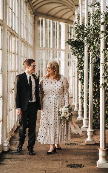Wollaton Hall intimate wedding