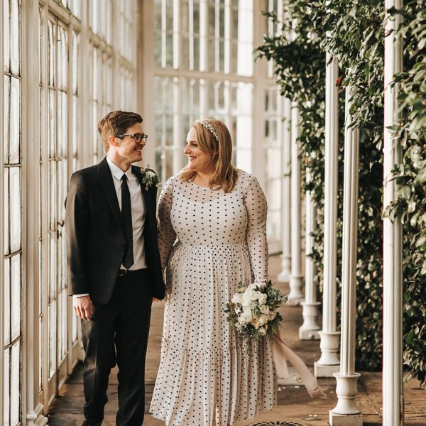 Wollaton Hall intimate wedding